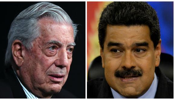 """Vargas Llosa cree que """"el final"""" de Nicolás Maduro """"está cerca"""""""