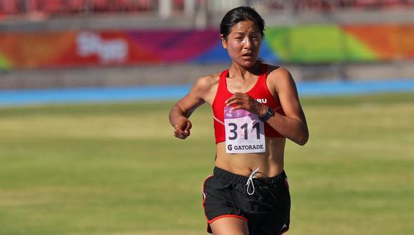 La fondista Inés Melchor nunca deja de correr. En la maratón de Berlín en el 2014, rompió el récord sudamericano.