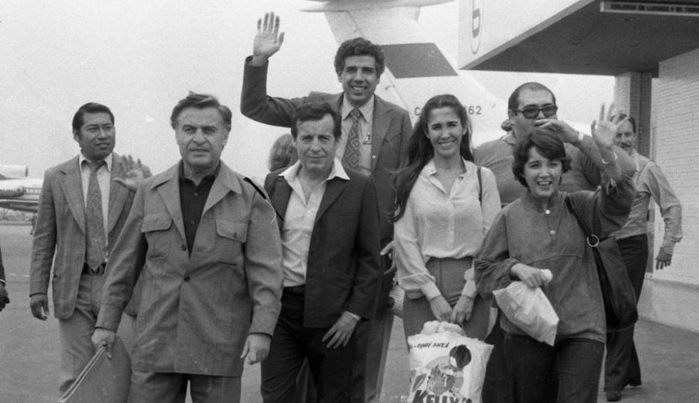 Roberto Gómez Bolaños, también conocido como 'Chespirito', llegó al Perú junto con su gran elenco de actores. (Archivo Histórico El Comercio)