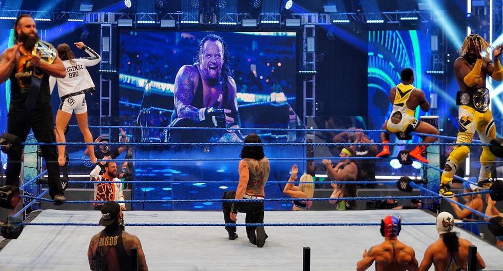 WWE SmackDown: revive el emotivo homenaje a The Undertaker y los mejores momentos del show de la marca azul | Fotos: WWE