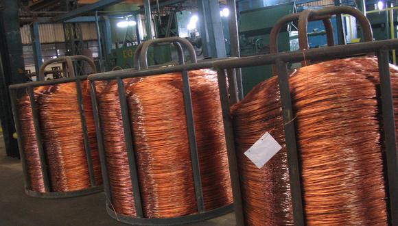 El cobre, utilizado principalmente en construcción y energía, es visto como un barómetro de la salud de la economía global. (Foto: GEC)