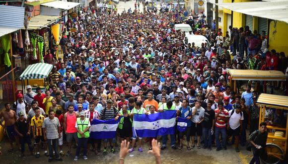 Estados Unidos y Guatemala tienen un acuerdo para frenar a migrantes. (AFP).