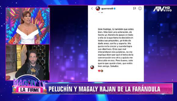 """Rodrigo González """"Peluchín"""" revela inédita conversación que mantuvo con Paolo Guerrero. (Foto: Captura ATV)"""