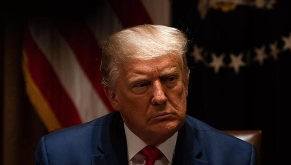 TikTok: Donald Trump anuncia que el sábado firmará una orden ejecutiva para prohibir la red social china en Estados Unidos. (EFE/EPA/Anna Moneymaker / POOL).
