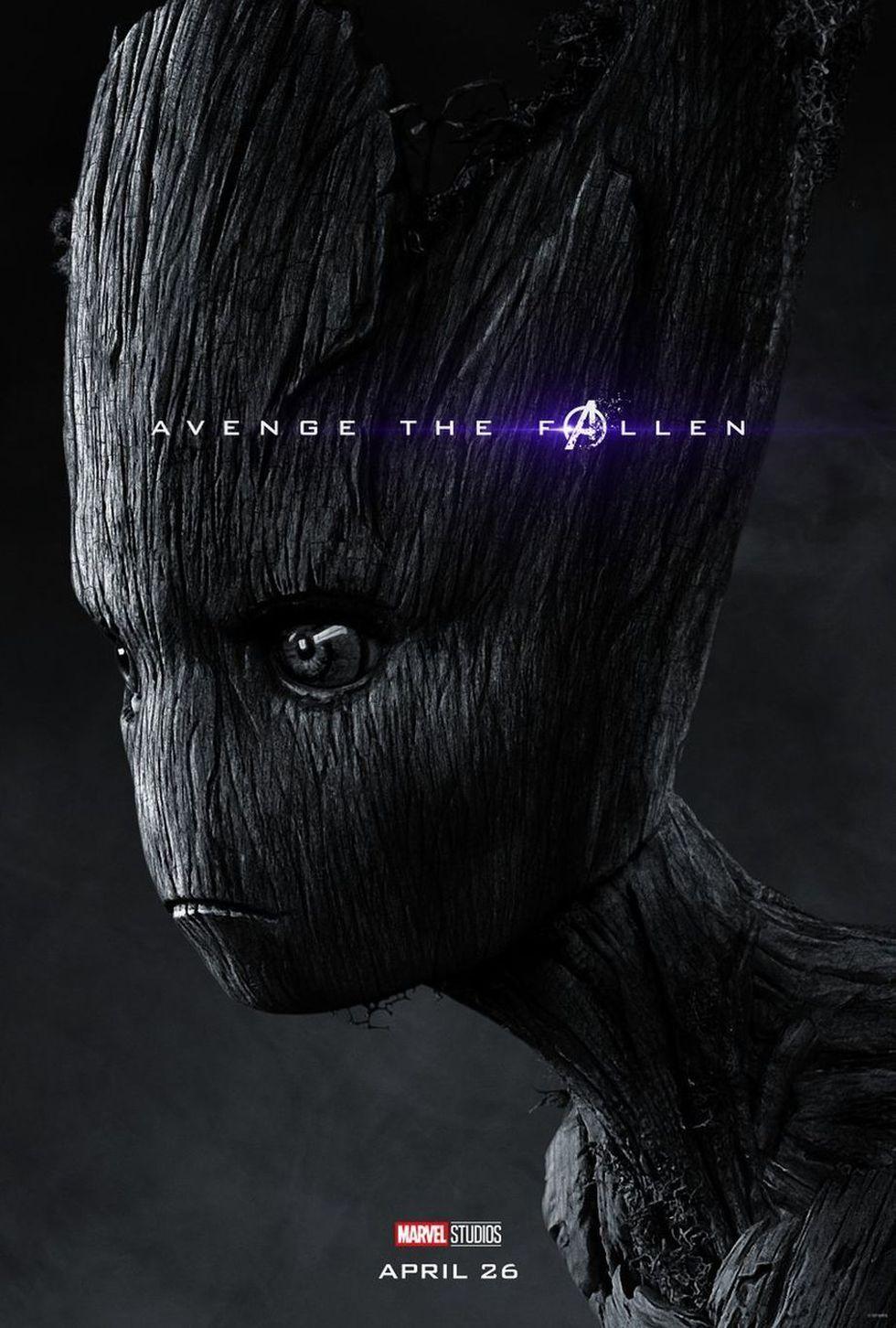 Groot - MUERTO (Foto: Avengers: Endgame / Marvel Studios)