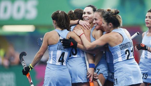 Argentina vs. Chile EN VIVO: Las Leonas van en busca de la final de los Juegos Panamericanos 2019. (Foto: Cristiane Mattos / Lima 2019)