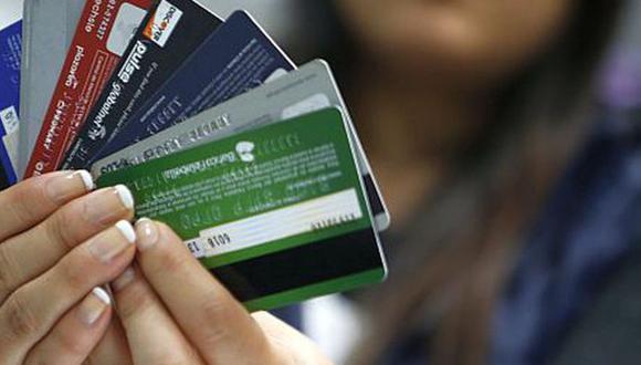 Tarjetas de crédito. (Foto: El Comercio)