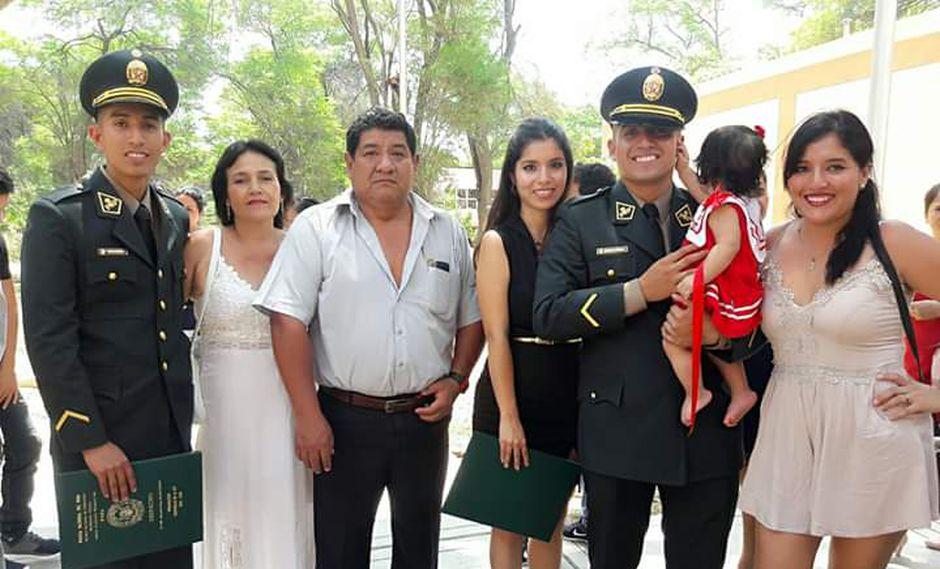 Suboficial Elvis Miranda llevaba solo un año en la Policía Nacional