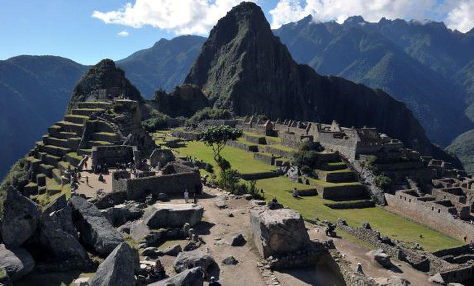 Machu Picchu es uno de los lugares más visitados en los días feriados (Foto: AFP)
