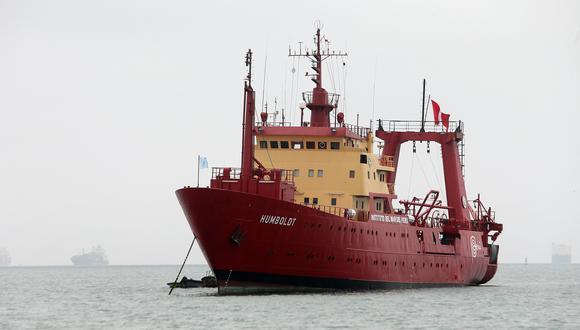 El Buque de Investigación Humboldt cubrirá la zona sur desde las 40 a 200 millas náuticas de la costa, por un periodo de 25 días. (Foto: GEC)