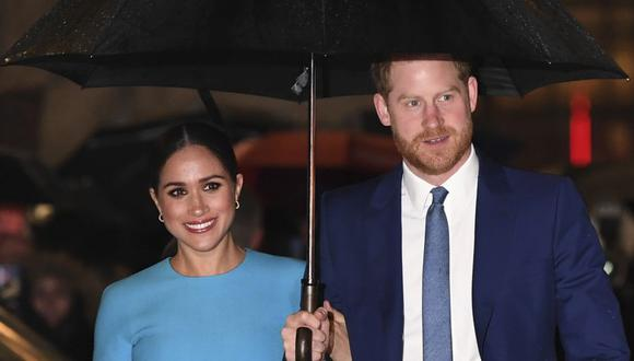 Meghan Markle y su esposo, el príncipe Harry, se mudaron a Estados Unidos este año tras dejar Canadá y después de anunciar en enero que se alejarían de las obligaciones como miembros de la familia real británica. (Foto: DANIEL LEAL-OLIVAS / AFP).