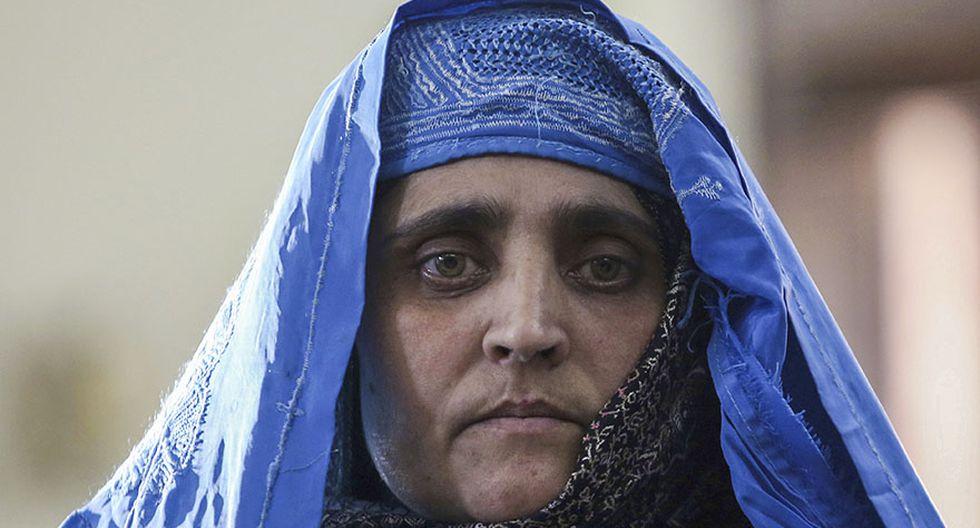 Pakistán deportó a la afgana de los ojos verdes - 3