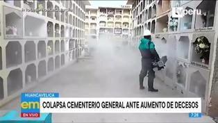 Huancavelica: cementerio general colapsó ante aumento de decesos por covid-19