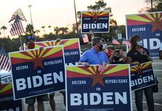 Los republicanos que votaron por Trump en el 2016 ahora pueden darle el triunfo a Biden en la codiciada Arizona