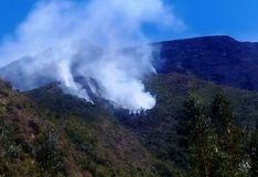 Cusco: controlan incendios forestales en distritos de Poroy y Lucre