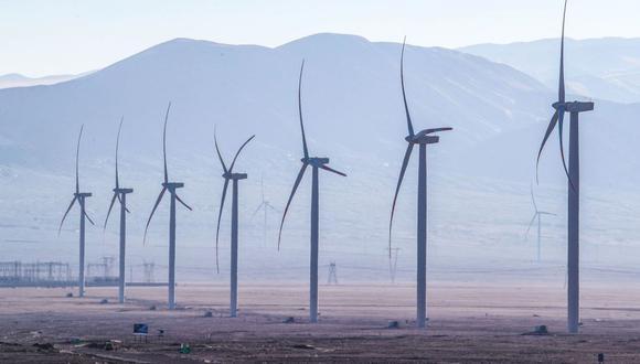 La generación de electricidad con energía eólica creció 2%. (Foto: Andina)