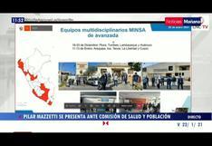 Pilar Mazzetti confirma tres casos de variante británica de COVID-19 en Perú