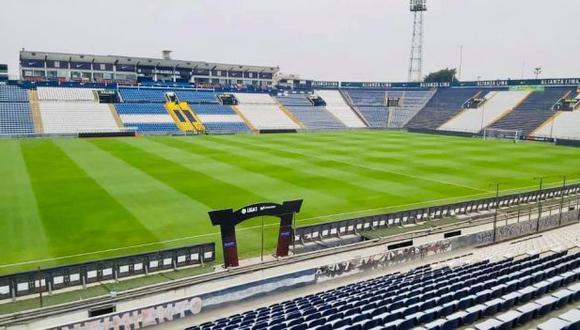 El litigio por la explanada de occidente del estadio de Alianza Lima continúa. (Foto: Alianza Lima)