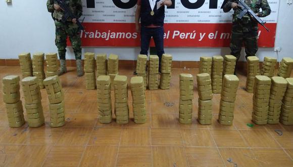 Puno: PNP decomisa más de 275 kilos de cocaína tras descubrir campamento de narcotraficantes (Foto: PNP)