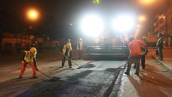 Emape terminó asfaltado en la avenida México