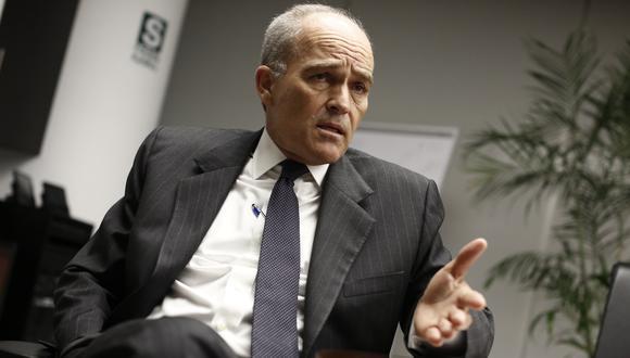 Roque Benavides dio sus descargos en conferencia de prensa sobre su situación como investigado tras presuntos aportes por parte de Odebrecht a la Confiep. (Foto: USI)
