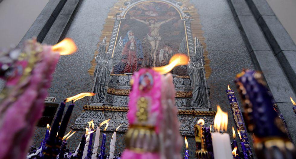 Señor de los Milagros inicia sus recorridos este sábado. (Foto: Andina)