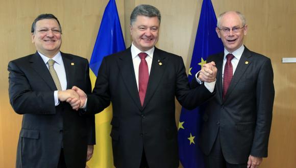 Ucrania selló con la Unión Europea acuerdo que desató la crisis