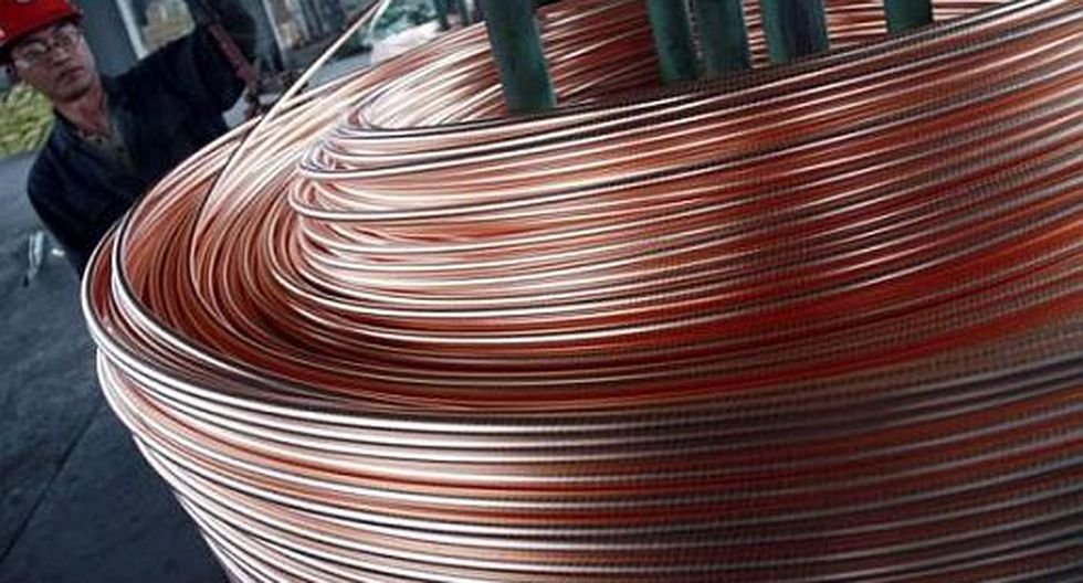 El cobre abrió a la baja el jueves. (Foto: Reuters)