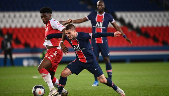 PSG y Mónaco se enfrentan este miércoles por la Copa de Francia 2021. (Foto: AFP)