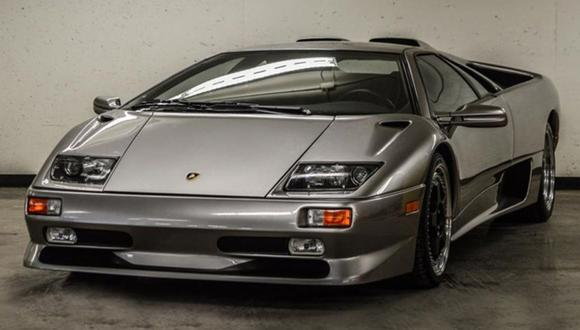 Este Lamborghini Diablo de 1999 solo tiene 1,8 km recorridos