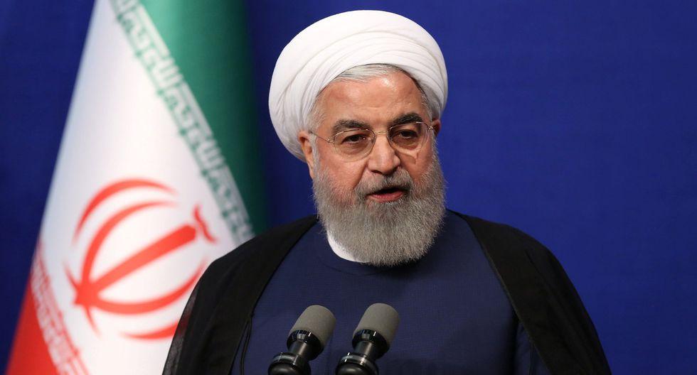 Irán anuncia que en 10 días habrá superado el límite de uranio enriquecido acumulado. En la imagen, el presidente Hassan Rohani. (Reuters).