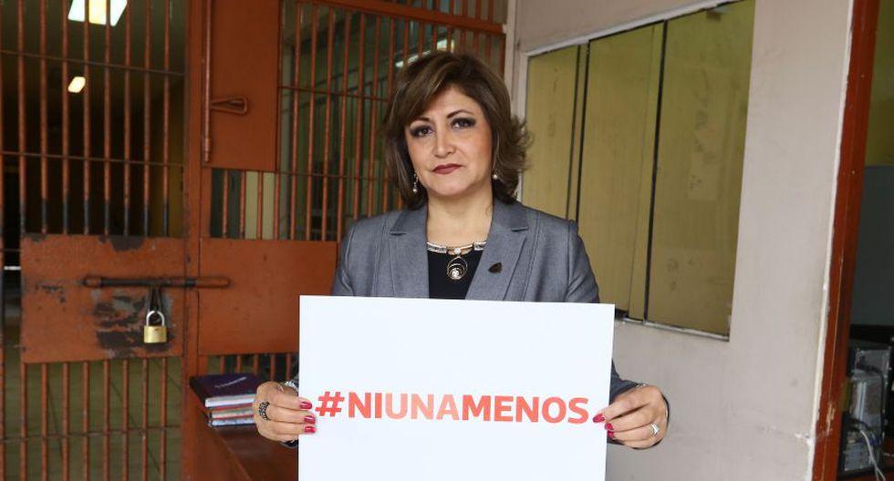#NiUnaMenos: ministra Pérez Tello e internas se unieron a causa - 3