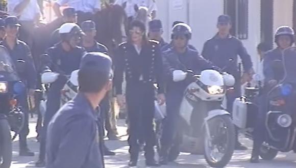 Este es un video de Michael Jackson en 1992, durante una gira por España. (Facebook)