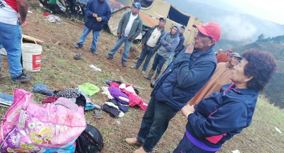 El accidente en Otuzco se registró esta madrugada. (Foto: cortesía)