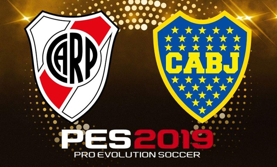 River vs. Boca. Simulamos la final de la Copa Libertadores en PES 2019. (Difusión)