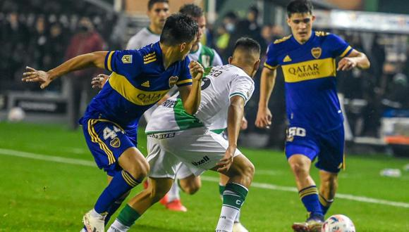 Boca ya tuvo que usar a sus juveniles en el pasado encuentro ante San Lorenzo. (Foto: @BocaJrsOficial)
