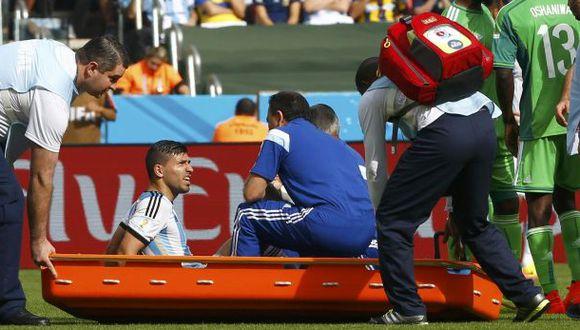 Sergio Agüero genera preocupación en Argentina por la lesión