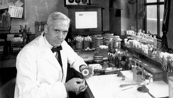 El médico Alexander Fleming descubrió la penicilina gracias al azar (Foto: Getty Images)