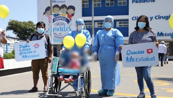 La operación duró casi ocho horas y se dio el pasado 5 de abril. (Foto: Essalud)