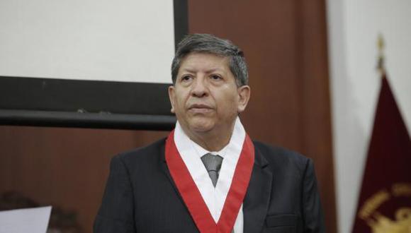 """Carlos Ramos dijo esperar que el concurso público para escoger a integrantes del TC no se convierta en """"un fiasco"""" como ocurrió en el año 2013. (Foto: GEC)"""