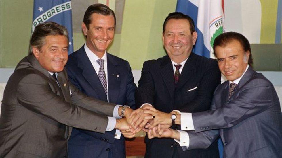El Mercosur fue creado a inicios de la década de 1990 fundamentalmente como un mecanismo de integración económica. (Foto: Getty Images)