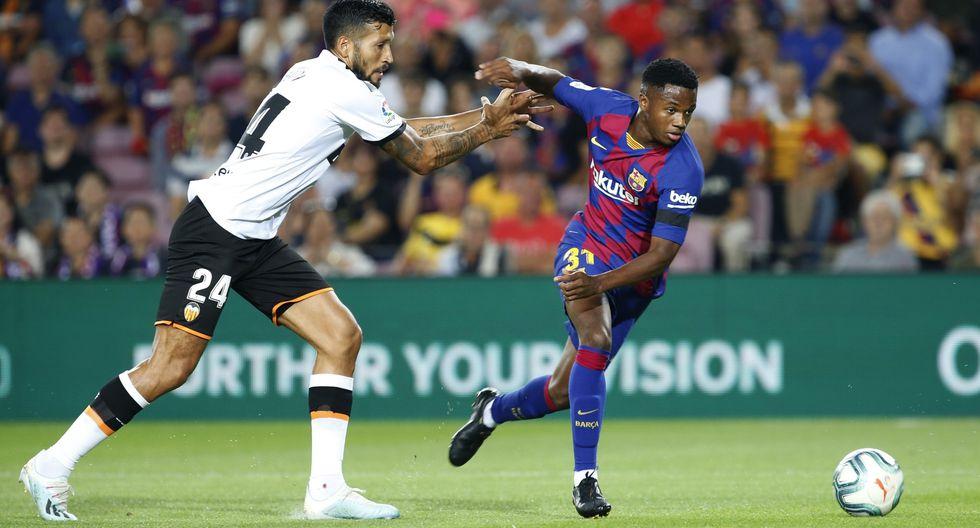Barcelona vs. Valencia: mejores imágenes del partido. (Foto: AFP)