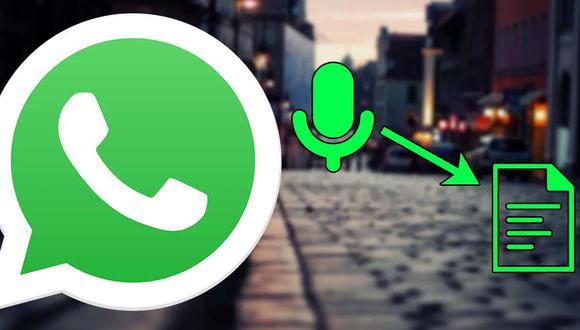 ¿Te han enviado un mensaje largo de audio de WhatsApp? De esta forma podrás transcribirlo. (Foto: WhatsApp)