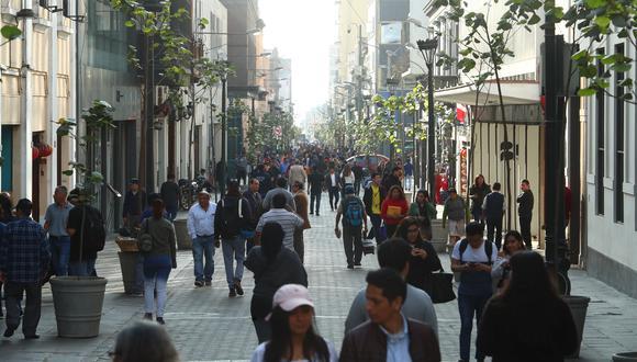 Plan que dispone peatonalizar el Centro de Lima. Obras se iniciarán el próximo año. (Foto: Alessandro Currarino)