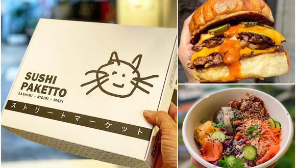 Las propuestas del chef Javier Miyasato han potenciado su canal de delivery. (Foto: Instagram/ Facebook | Bao? y Maketto)