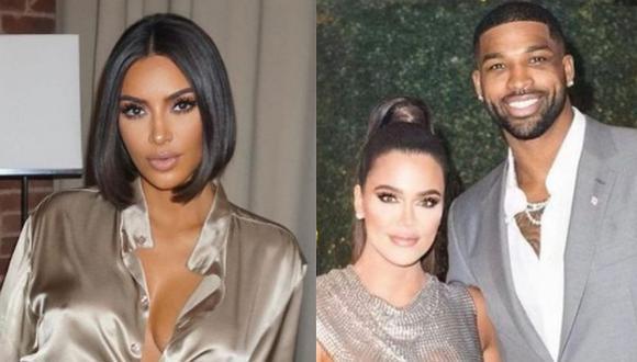 Khloé Kardashian y Tristan Thompson retomaron su relación y la celebridad Kim Kardashian escribió lo orgullosa que está de él. (Foto: Instagram)