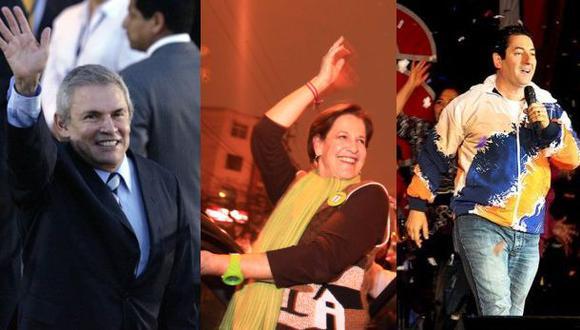 Castañeda, Villarán y Heresi siguen primeros, según simulacro