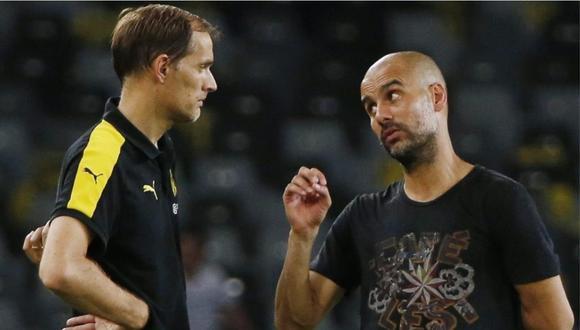 Pep Guardiola dirigirá su tercera final de Champions, mientras que Tuchel hará lo propio en su segunda definición. (Foto: AP)