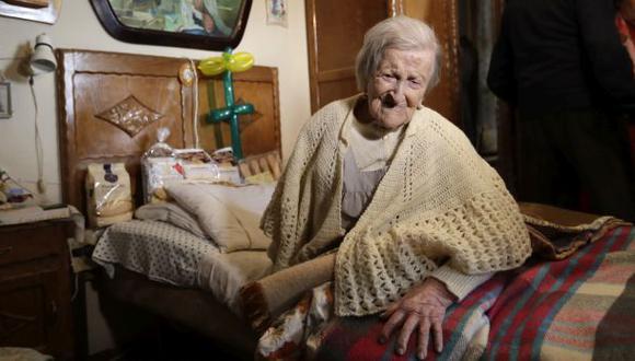 Italia: Fallece a los 117 años la mujer más anciana del mundo