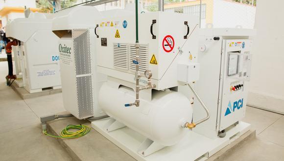 Las dos plantas generadoras de oxígeno beneficiarán a más 2,500 pacientes y 1,800 miembros del personal de salud del Hospital Cayetano Heredia. (Foto: Difusión)